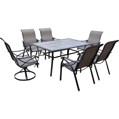 courtyard creations st thomas 7 pc dining set dining