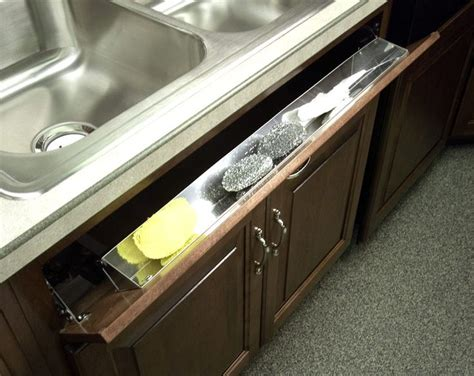 kitchen sink sponge drawer pinterest