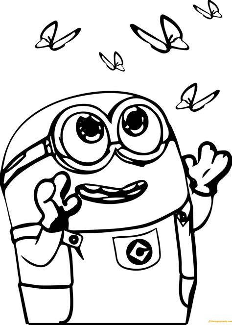 milk minion coloring page  coloring pages