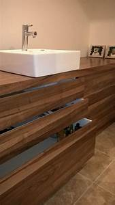 Meuble Salle De Bain Noyer : noyer pour meuble de salle de bain ~ Melissatoandfro.com Idées de Décoration