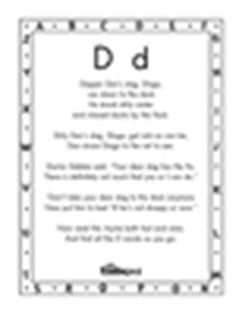 alphabet chants reading