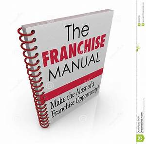 Franchise Manual Book Cover Instructions Help Advice