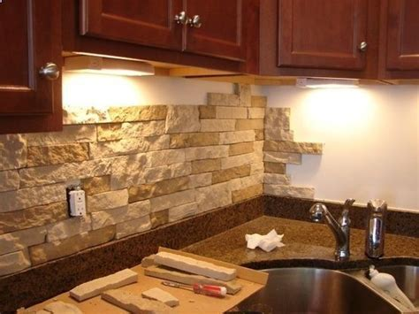 lowes kitchen wall tile diy back splash from airstone no power tools or 7272