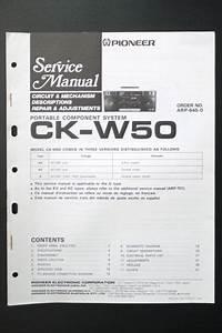 Pioneer Ck Service Manual