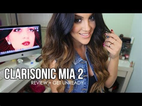clarisonic mia  review  unready extras youtube