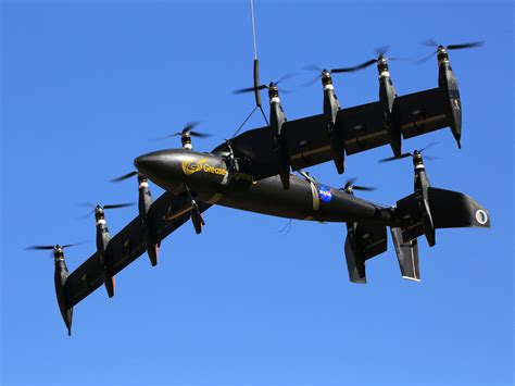 NASA Tests Unmanned Hybrid Aircraft