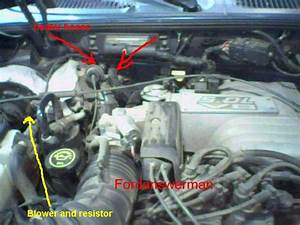 Where Is The Blower Resistor Thermal Limiter Relay Or Fuse