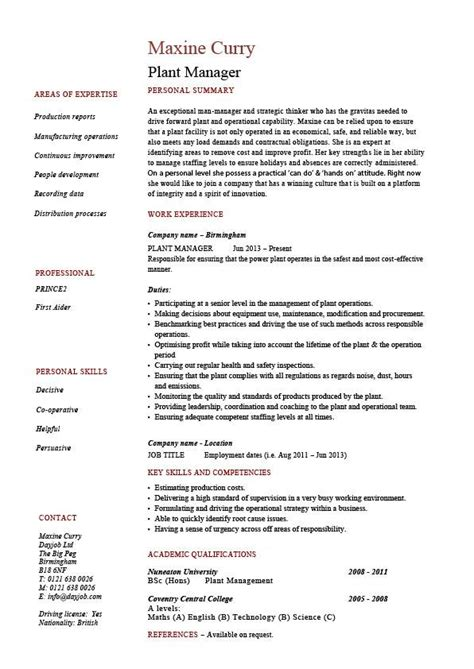 manufacturing manager resume printable planner template