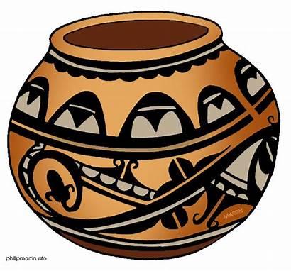 Pottery Clipart Clip Native American Ceramics Sw