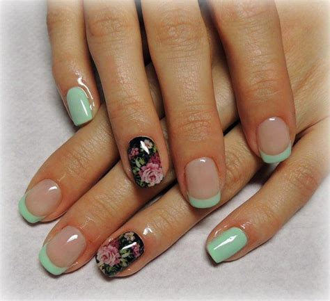 Best 25+ Color french manicure ideas on Pinterest French