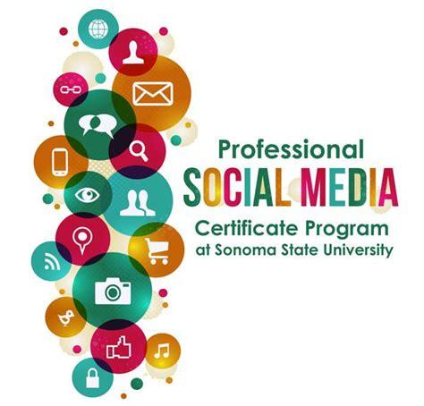social media certificate programs ssu professional social media certification kerry rego