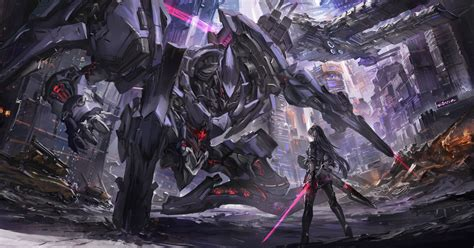 Anime Mecha Wallpaper - 2863x1500 anime mecha robot sci fi