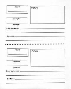 vocabulary strategies academic vocabulary robert With marzano vocabulary template