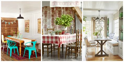 85 Best Dining Room Decorating Ideas  Country Dining Room
