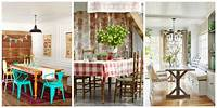 dining room design ideas 85 Best Dining Room Decorating Ideas - Country Dining Room ...