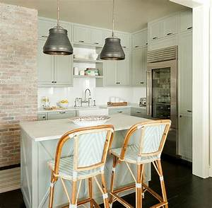 gray green kitchen cabinets with white countertops With what kind of paint to use on kitchen cabinets for french bistro wall art