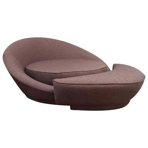 round loveseat with ottoman milo baughman round loveseat or lounge chair with ottoman