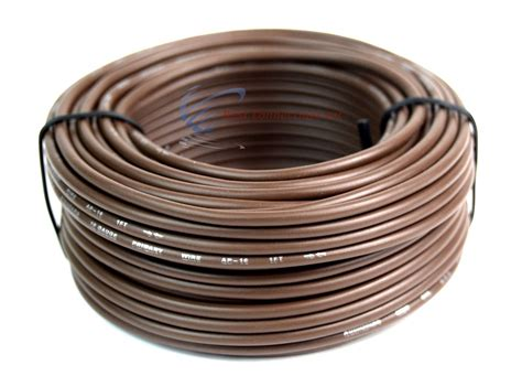 what color is the ground wire 16 ga 50 ft rolls primary auto remote power ground wire