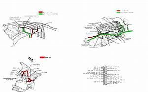 2001 Daewoo Lanos Electrical Wiring Diagram Service Set Factory Oem 01