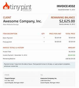 website design invoice hardhostinfo With free invoice website
