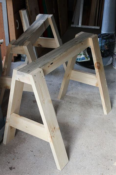 plywood sawhorse plans  woodworking projects plans