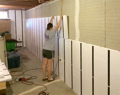 Diy Basement Wall Panels Home Inspiration