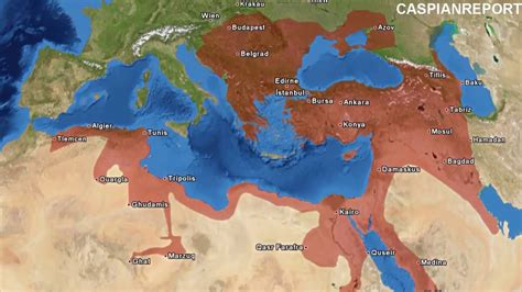 Ottoman Empire At Its Peak by Decline Of The Ottoman Empire