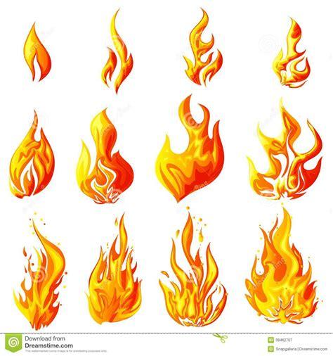 Fire Flames Vector Art