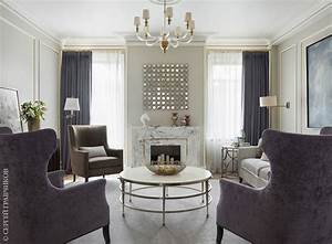 Moscow, House, With, American, Modern, Classic, Interiors