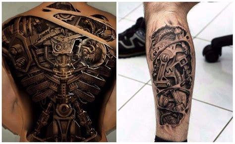 disenos de tatuajes biomecanicos  tatuajes bionicos