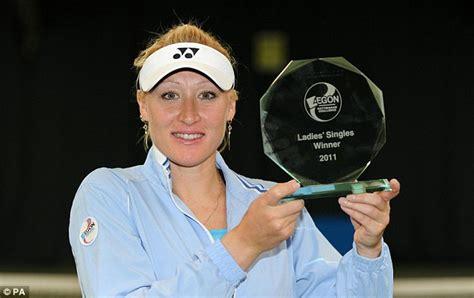 elena baltacha retires  tennis daily mail