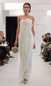 goes wedding casual white wedding dress for new bridal With white casual wedding dress