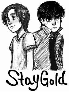 Ponyboy and Johnny by courtneygodbey on DeviantArt