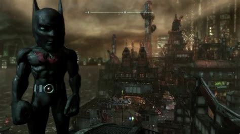 arkham city   big head mode game