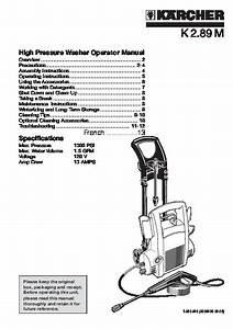 K U00e4rcher K 2 89 M Electric Power High Pressure Washer