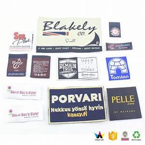wholesale custom fancy clothing labels woven labels With custom cosmetic labels wholesale