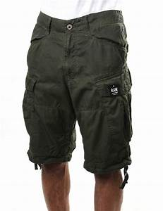 G-Star Raw Rovic Loose Premium Men's Twill 1/2 Shorts Sage