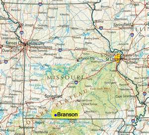 State Reference Map Missouri
