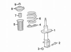 Chevrolet Cruze Suspension Strut  Components  Front  May