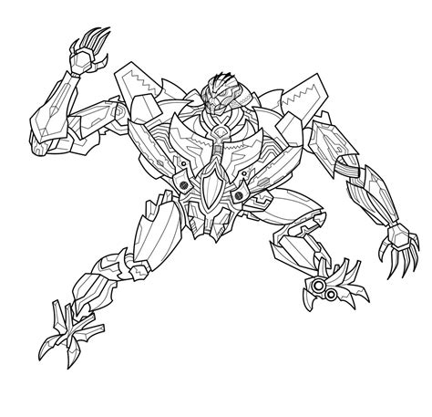transformers coloring book megatron coloring page coloring home
