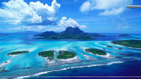 Bora Bora Wallpaper Tahiti Wallpapersafari