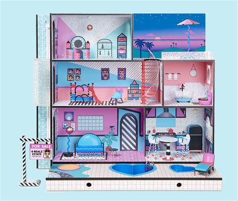 buy lol surprise winter disco chalet doll house