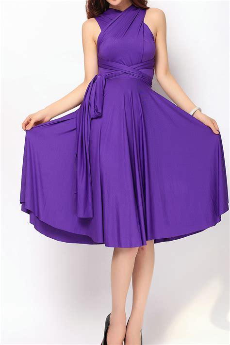 Light Pink Formal Dresses by Plum Short Bridesmaid Dress Infinity Dress Convertible