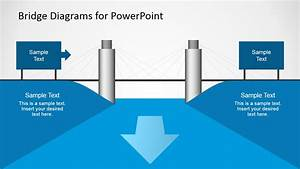 2d Bridge Diagrams Template For Powerpoint