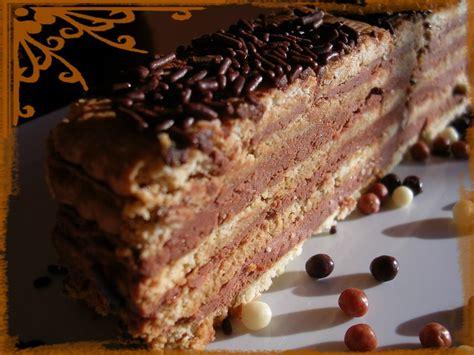 dessert avec petit lu g 226 teau aux petit beurre et chocolat