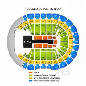 Vivid Seats Seating Chart Coliseo De Puerto Rico Seating Chart Vivid Seats