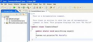 How To Add Comments In Java Code