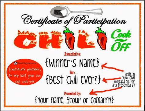 Chili Cook Off Decorating Ideas Elitflat