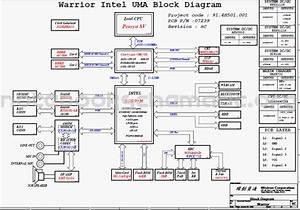Schematic Motherboard For Laptop Compaq Presario Cq60  Cq70