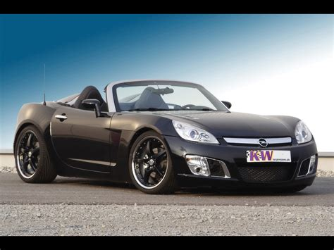 2007 Opel Gt by 2007 Opel Gt With Kw Coilover Suspension V3 Front Angle